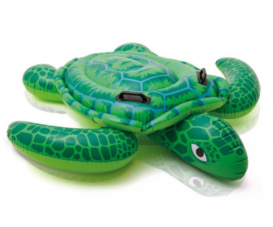 Plovoucí mořská želva Intex 57524 150x127cm