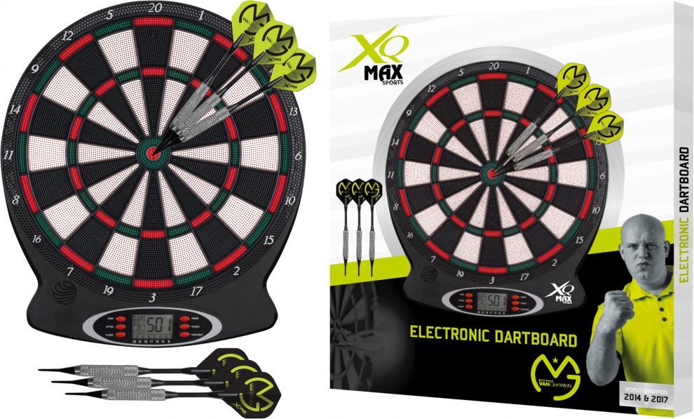 Elektronické šipky XQ MAX MVG SET