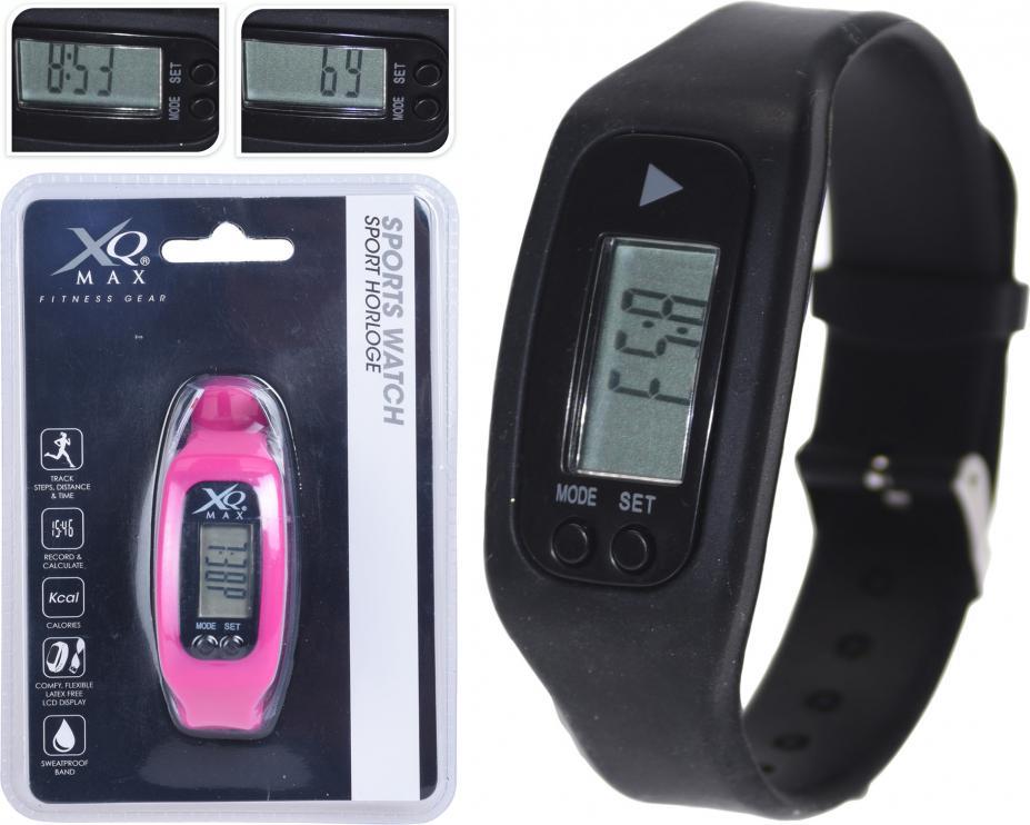 Sportovní multifunkční hodinky XQ MAX SportsWatch černá