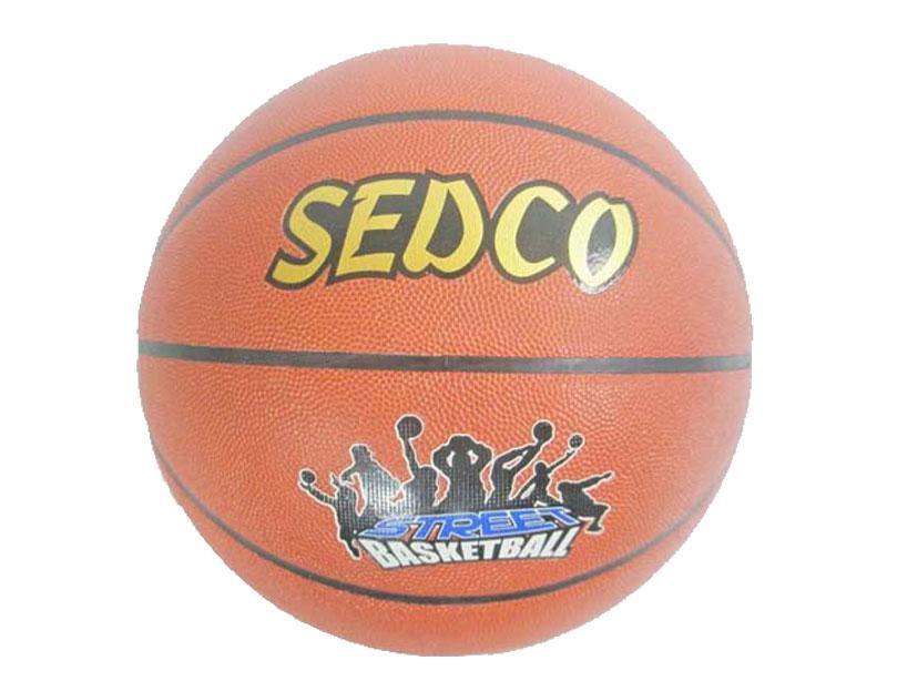 Míč basket kůže Sedco OFFICIAL STREET - 7 doprodej