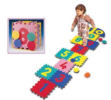 Pěnová puzzle / podložka SPARTAN 1724 30x30 cm