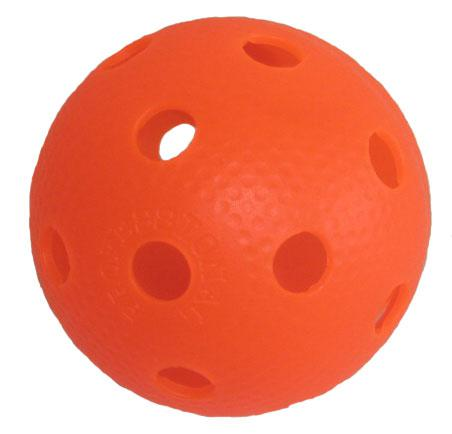 Florbalový míček PROFESSION barevný SPORT 2020 oranžový