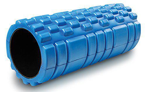 Masážní VÁLEC YOGA FOAM ROLLER Sedco 33x14 cm modrá