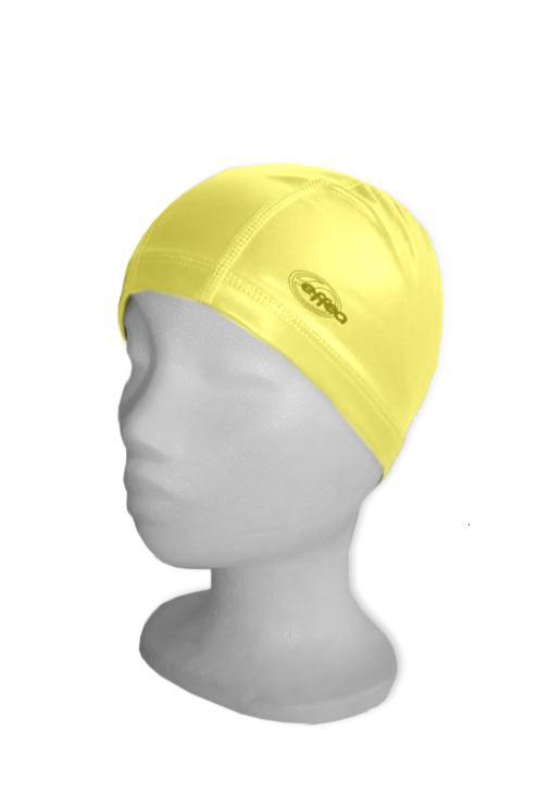 Koupací čepice EFFEA POLYESTER PU žlutá