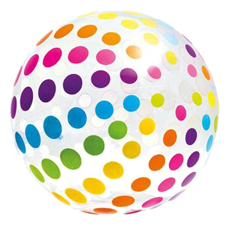 Nafukovací plážový míč Intex 59065 barevný 107 cm