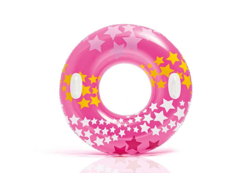 Kruh plavecký Intex 59256 nafukovací 91 cm