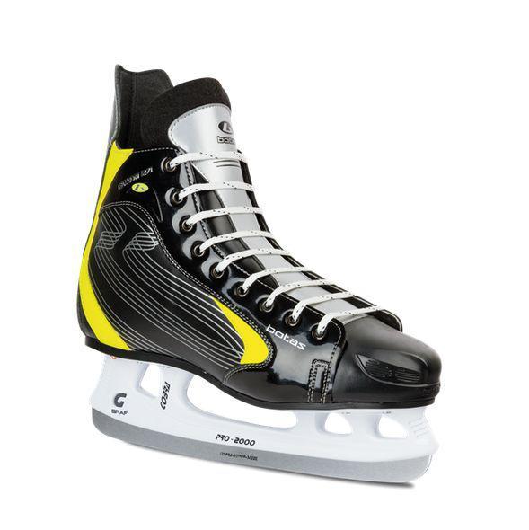 Hokejové brusle BOTAS FALLON velikost 27 černo/žlutá