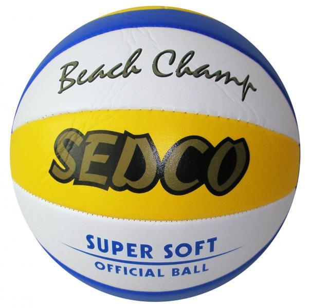 Míče BEACH volejbal SEDCO SOFT  SET 6ks + nylonová síť
