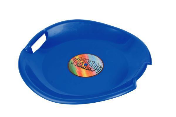 Sáňkovací talíř TORNÁDO 629 PLASTKON 56cm-modrá