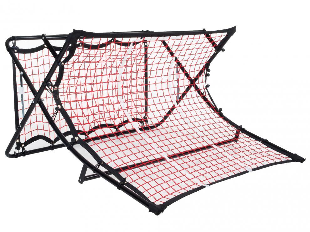 Odrazová síť - kopaná P2I SOCCER REBOUNDER 112x106x63 cm