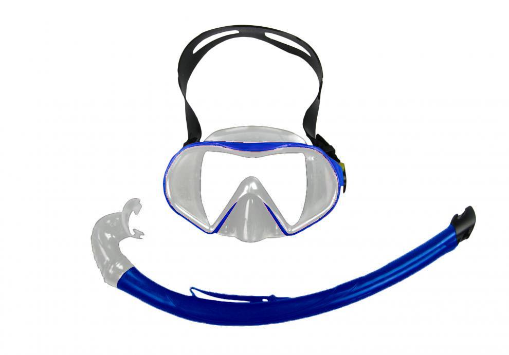 Potápěčský SET BAIA SILICON 11744-modrá