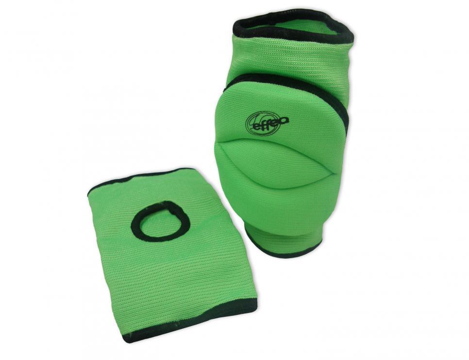 Chrániče kolen EFFEA 6644 SENIOR sv. zelené
