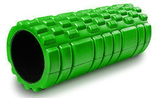 Masážní VÁLEC YOGA FOAM ROLLER Sedco 33x14 cm zelená