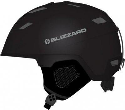 Lyžařská přilba Blizzard double 60 - 62 černá mat b56b71af964