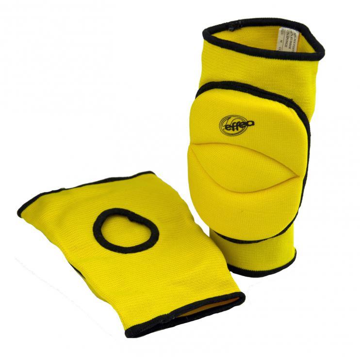 Chrániče kolen EFFEA 6644 SENIOR žluté