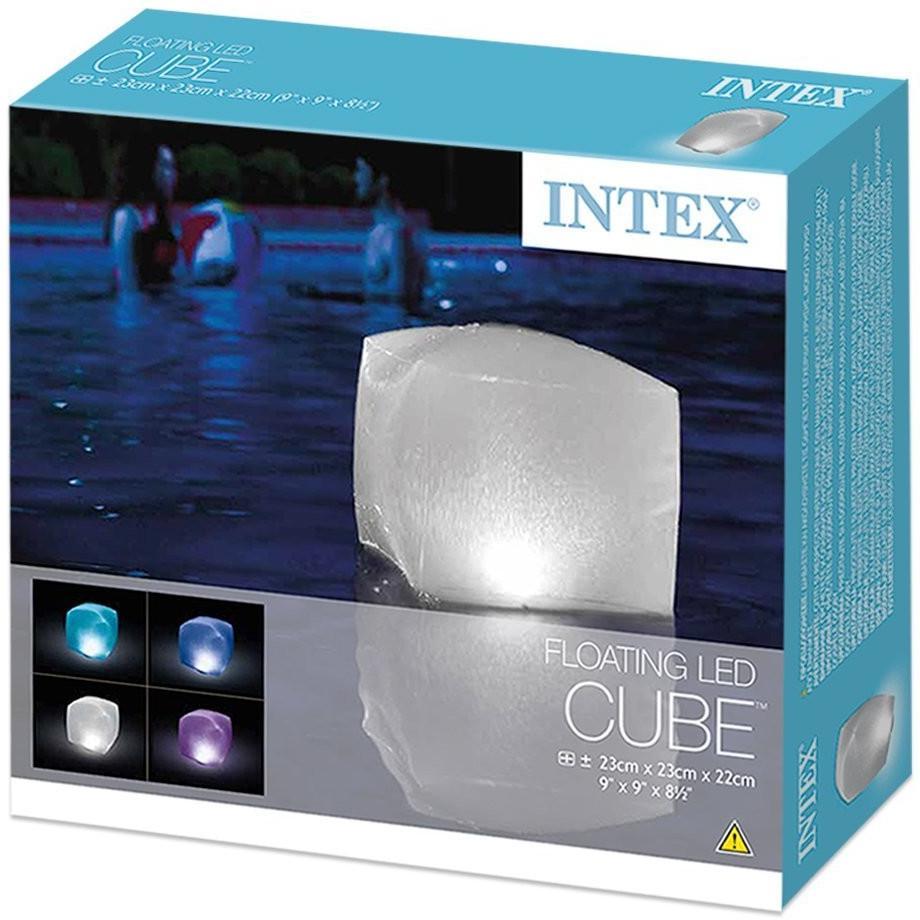 Svítící LED kostka INTEX 28694 do bazénů