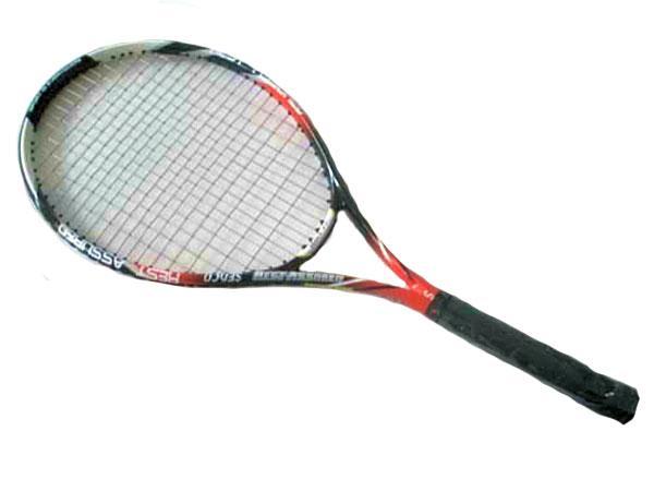 Tenis raketa CARBON 5633 barva černo/červeno/bílá SEDCO