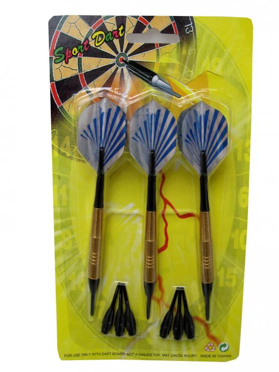 Sada šipek Sport Darts Tan 16g 3 ks + náhradní hroty