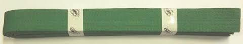 Pásek ke kimonu JUDO v.3 zelena