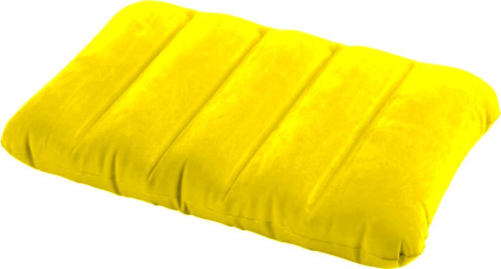 Nafukovací polštářek KIDZ INTEX 68676 žlutá