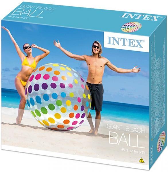 Nafukovací plážový míč Intex 58097 183 cm