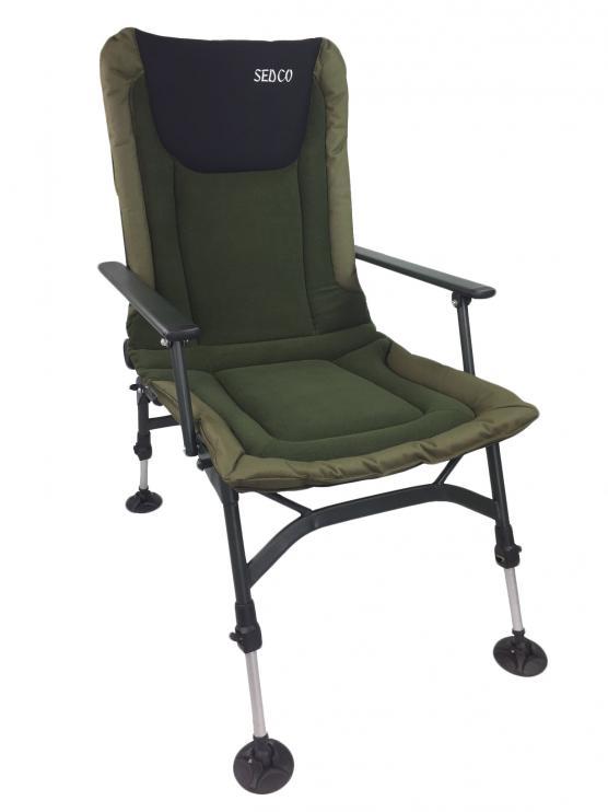Rybářská židle s opérkou SEDCO FISHING FLEECE FC005