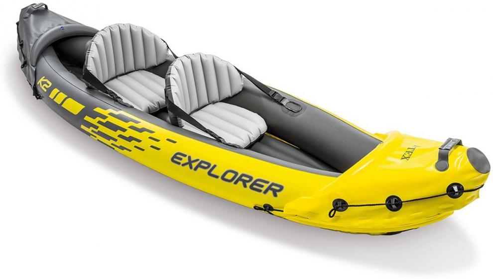 Člun INTEX 68307 EXPLORER K2 SET MODEL 2021