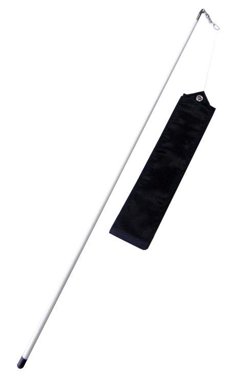 Gymnastická stuha OFFICIAL FANTASIA + tyčka černá