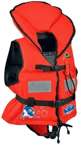 Plovací vesta Baby plus - L-červená