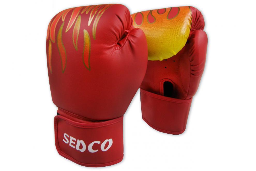 Box rukavice SEDCO TRAINING FIRE 14 OZ