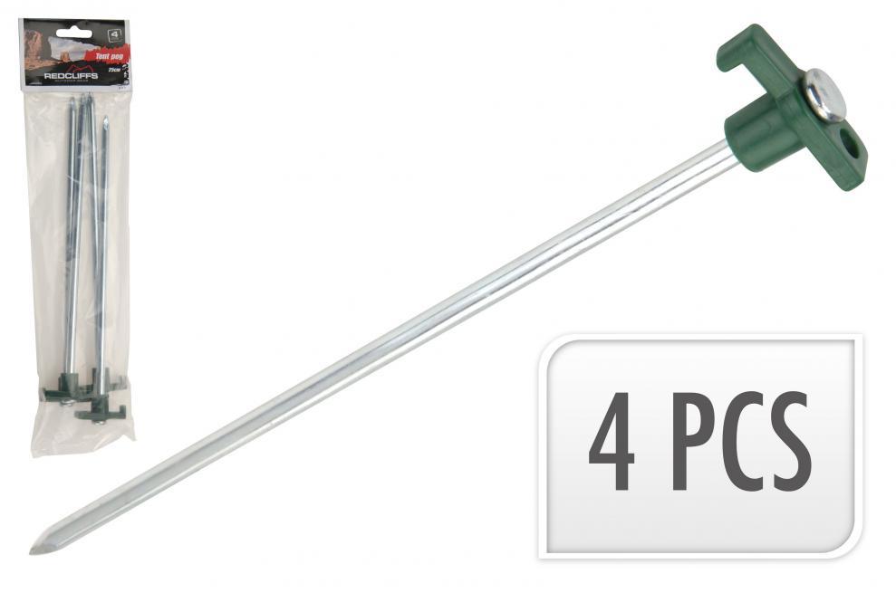 Náhradní koliky ke stanům REDCLIFFS 4ks - 25 cm