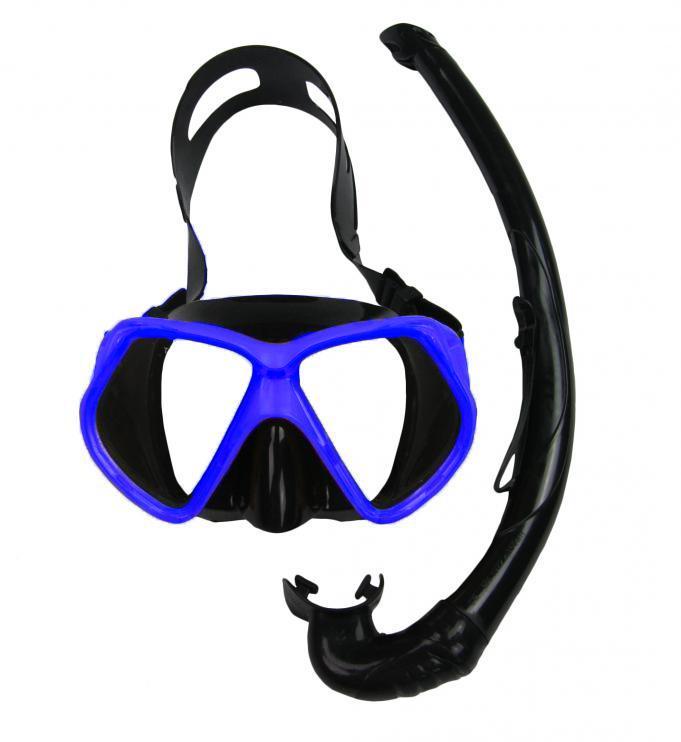 Potápěčský SET OASIS SILICON 11748-modrá