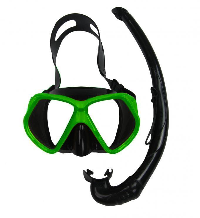 Potápěčský SET OASIS SILICON 11748-zelená