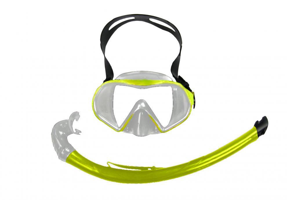 Potápěčský SET BAIA SILICON 11744-žlutá