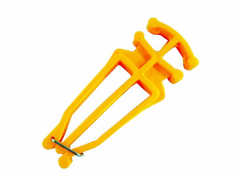 Nosič běžek Sedco žlutý  5,3 x 13,5 x 1,3 cm
