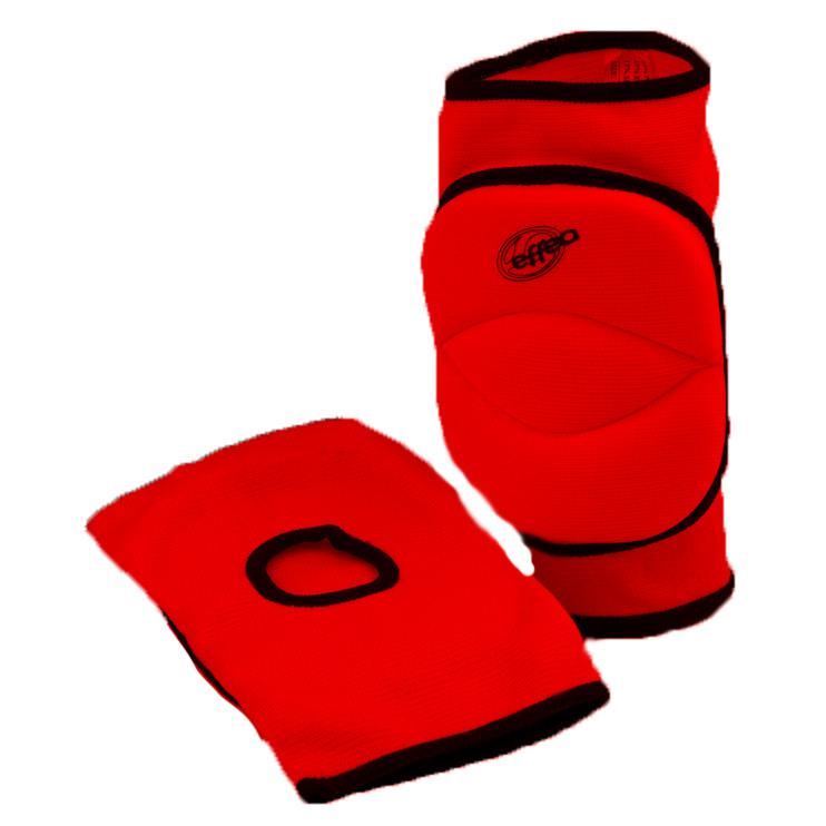 Chrániče kolen EFFEA 6644 SENIOR červené