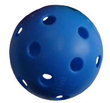 Florbalový míček PROFESSION barevný SPORT 2020 modrý
