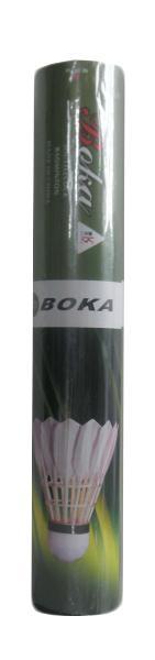 Míček badminton peří SK BK502A-tuba 12ks