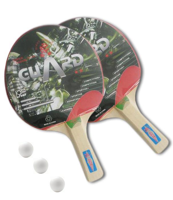 sada 2 Pálek na stolní tenis SET GIANT DRAGON a míčky