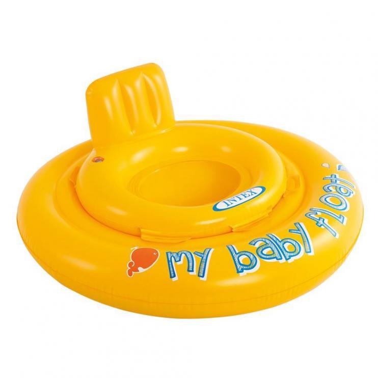 Kruh dětský dvojitý MY BABY FLOAT INTEX 56585