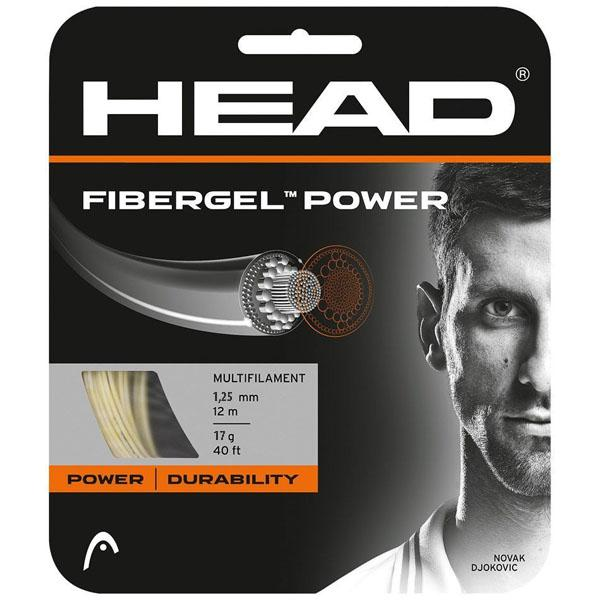 Tenisový výplet HEAD Fibergel Power 17 (1.25mm)