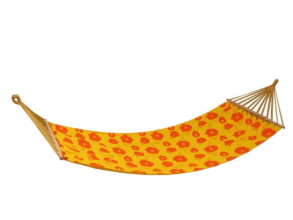 Houpací síť Canvas orange 200x80 cm