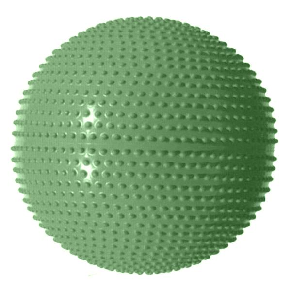 Gymnastický míč MASÁŽNÍ 65- Barva: Zelená