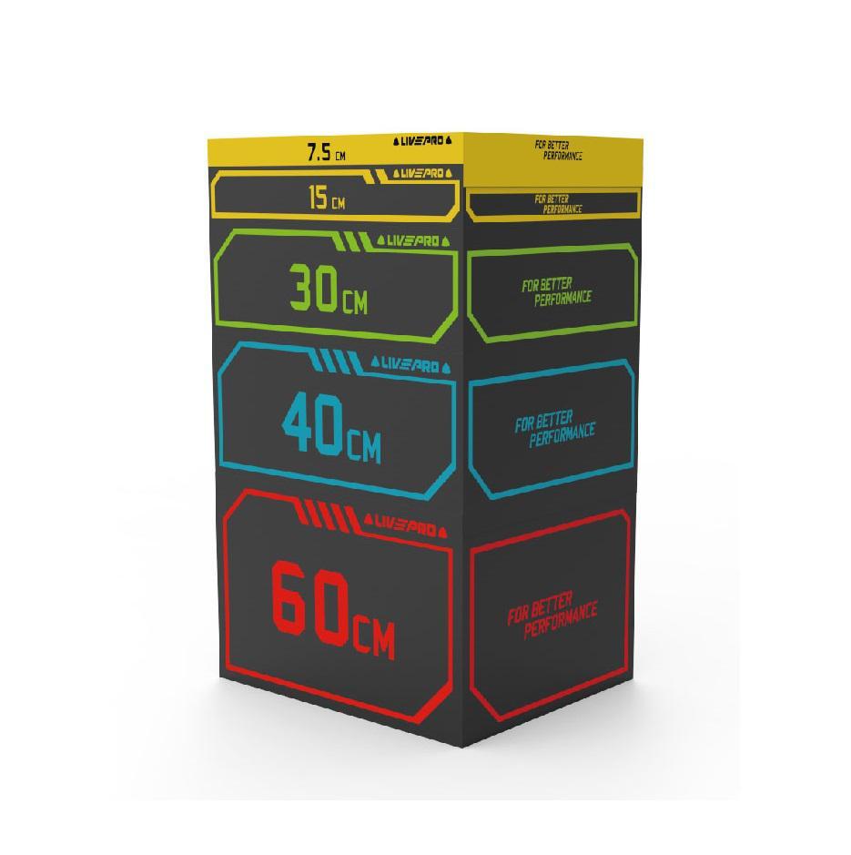 CrossFit Plyo box SOFT LivePro - 91x76x60 cm XL