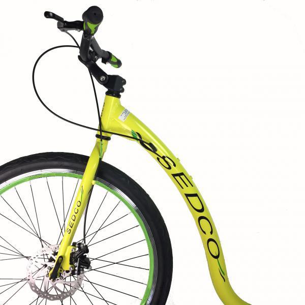 Koloběžka Sedco Touring ALU 26-20 žlutá