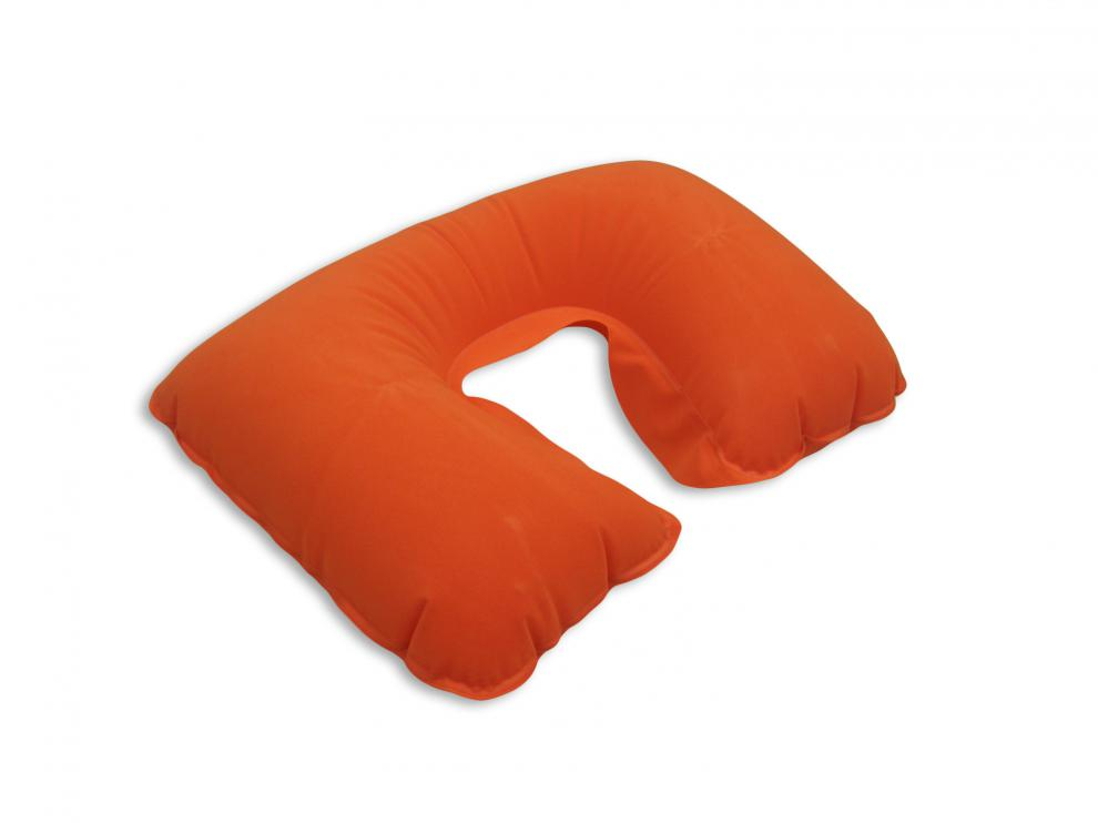 Cestovní polštářek nafukovací 0869 oranžová