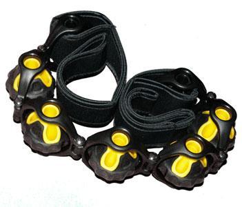 Masážní pás s poutky RS11 Sedco 110 cm žluto/černý