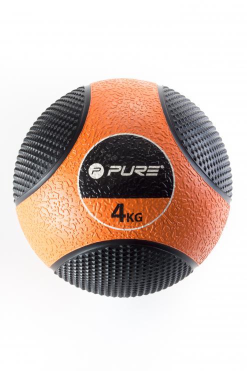 Míč MEDICINÁLNÍ Pure2Improve Ø 20 cm oranžová