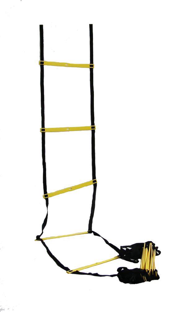 ŽEBŘÍK AGILITY frekvenční délka 8 m SEDCO barva žluto/černá