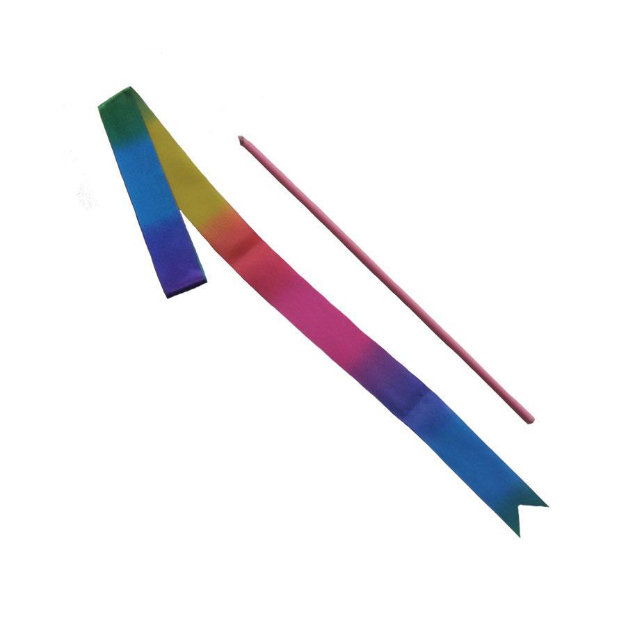 Gymnastická stuha,tyčka junior mix barev